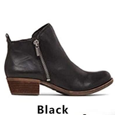 Henraly Women Spring Autumn Shoes Woman Mujer Sapato Girls Ankle Boots Square Chunky Low Heels Booties