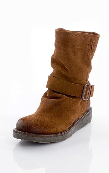 Bronx Stiefel Wildleder