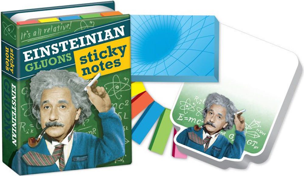 Einstein's Gluons Sticky Notes Booklet - 6 Pack