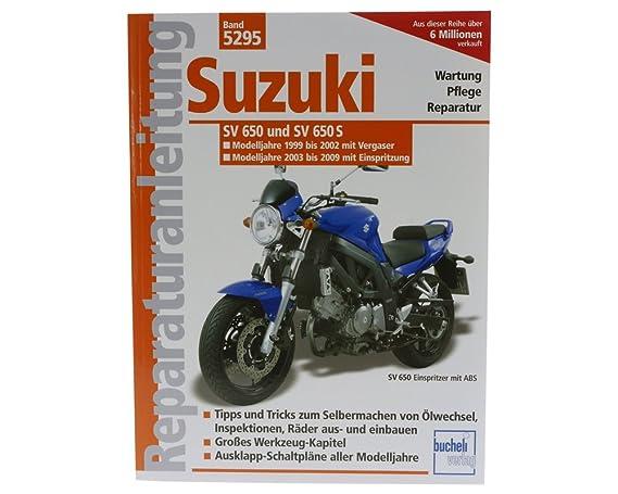 Reparaturbuch Suzuki SV 650 / S, 99-08, Vergaser und ...