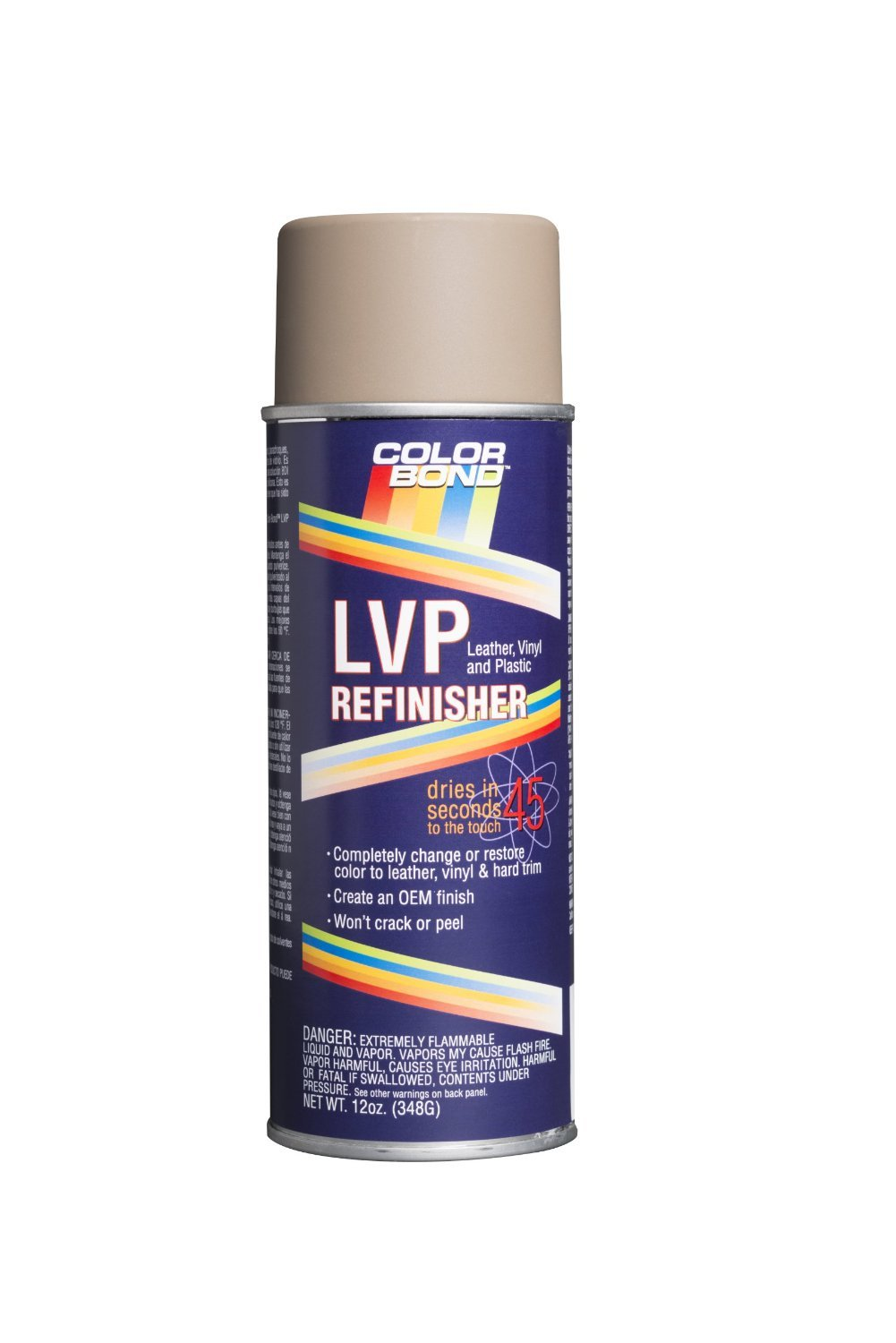 ColorBond (3036) GM Dark Ash 2014 LVP Leather, Vinyl & Hard Plastic Refinisher Spray Paint - 12 oz.