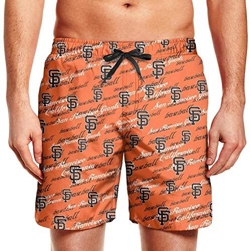 MoirlayC Man Fashion Beach Shorts Swim Trunks Shorts Sweatpants - Shorts Mens Giants Francisco San