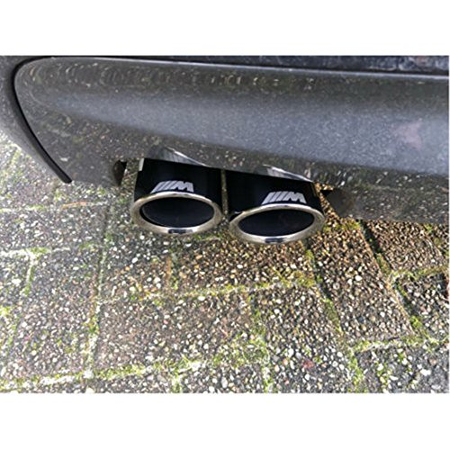 Exhaust Tips for BMW 5-Series F10 F18 M Performance Stainless Steel Muffler Pipe Cover(1pair)