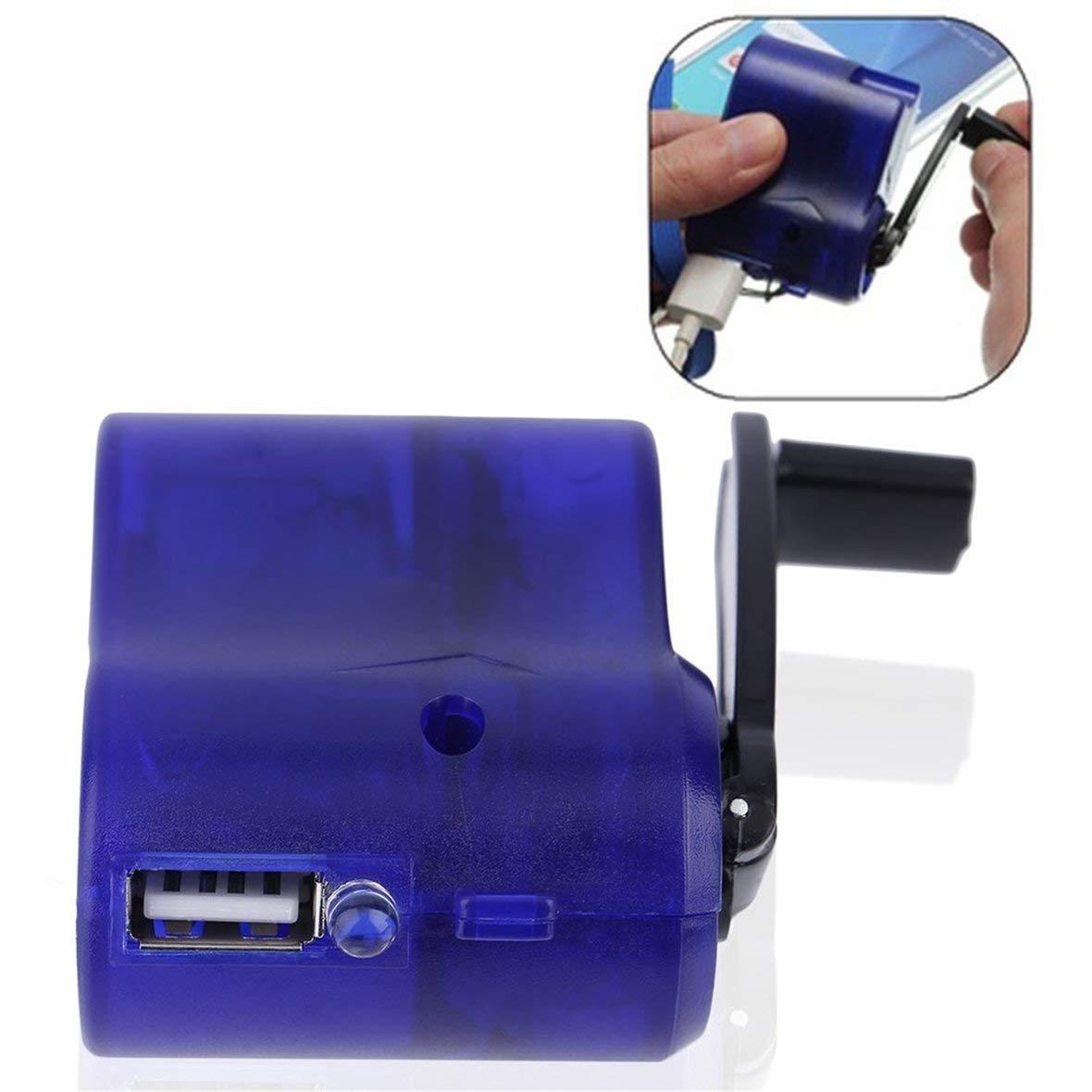 Heaviesk Nuevo plástico Azul y Elemento electrónico USB de ...