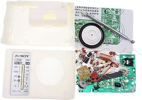 Fansport Am/FM Radio Kit BateríA Operado Creative DIY Pocket Radio ...