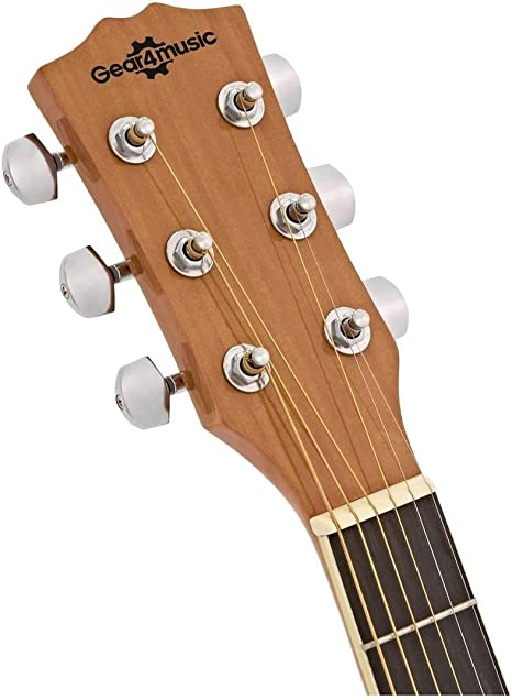 Guitarra Electroacustica Single Cutaway + Ampli de 15W Gear4music: Amazon.es: Instrumentos musicales