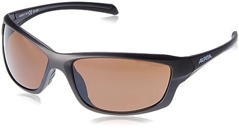 Alpina Sonnenbrille Amition Dyfer Outdoorsport-Brille, Tin Matt-Black, One Size