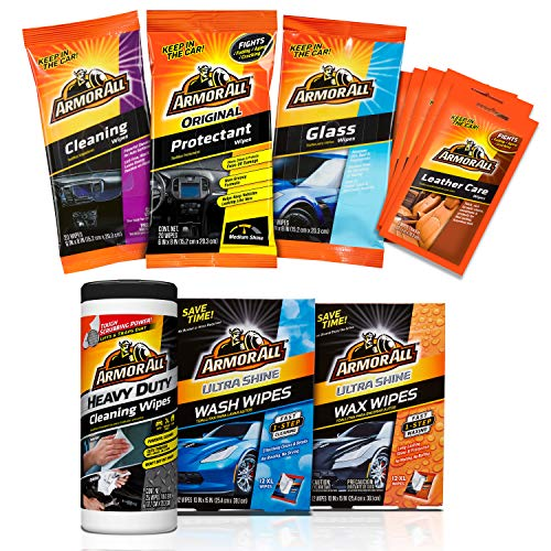 Armor All Bumper to Bumper Car Wipes Kit (7 items)