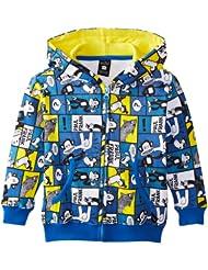(新品)Paul Frank 大嘴猴 男童 长袖 印花 卫衣 天蓝色 $34.99