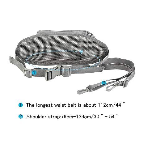 OLEADER Tactical Cintura Paquete Militar Fanny Packs Hip Belt Bolsa Bolsa Organizador de la Herramienta para al Aire Libre Escalada Pesca Caza