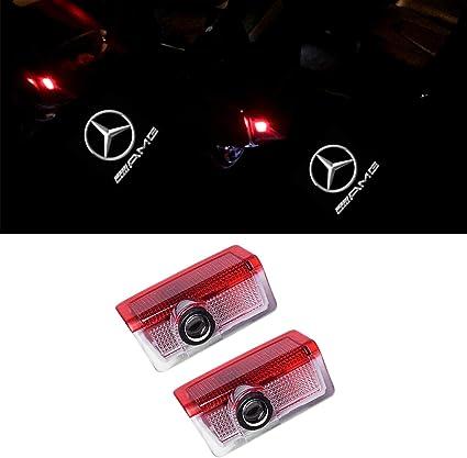 ZTMYZFSL 2 piezas de proyección del logotipo del coche LED ...