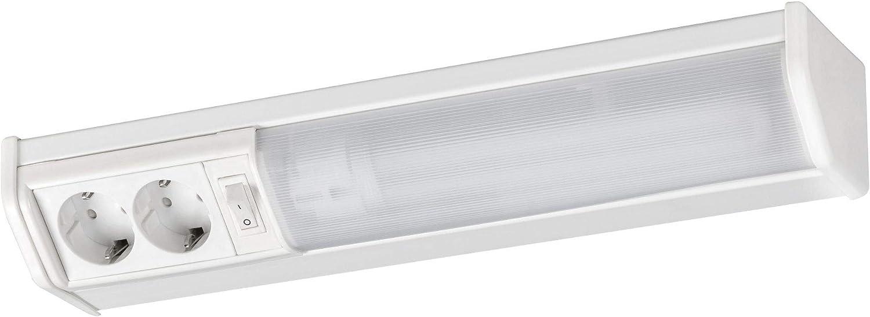 Lámpara de cocina blanca cálida con enchufe, 11 W, para carga de armarios, cocina, barra de luz: Amazon.es: Iluminación