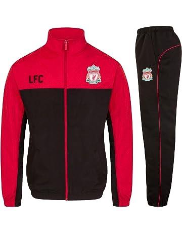a912fb1a37 Liverpool FC officiel - Lot veste et pantalon de survêtement thème football  - homme