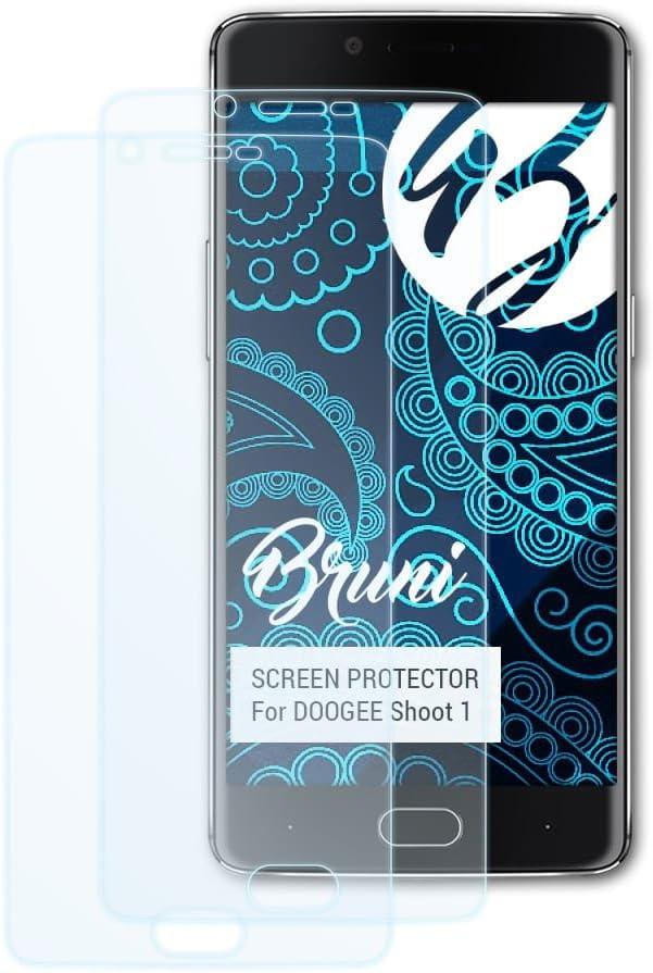 Bruni Película Protectora para DOOGEE Shoot 1 Protector Película, Claro Lámina Protectora (2X): Amazon.es: Electrónica