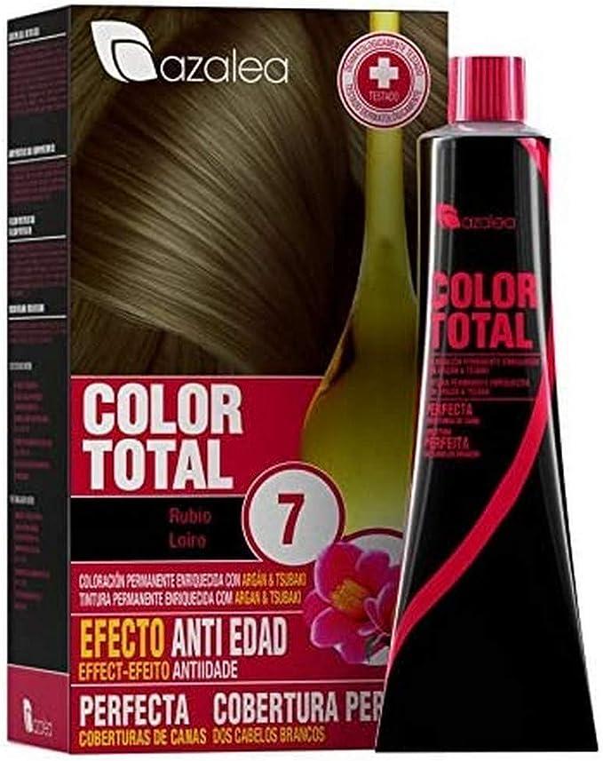 Azalea Total Tinte Capilar Permanente, Color Rubio - 224 gr