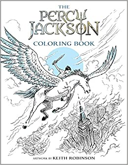Percy Jackson And The Olympians Coloring Book Rick Riordan Keith Robinson 9781484787793 Amazon