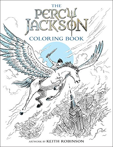 Percy Jackson and the Olympians The Percy Jackson Coloring Book (Percy Jackson & the Olympians)