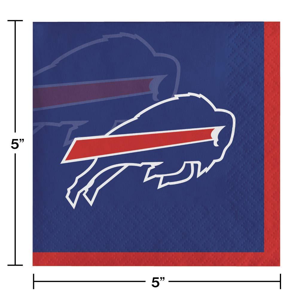 48 ct Buffalo Bills Beverage Napkins