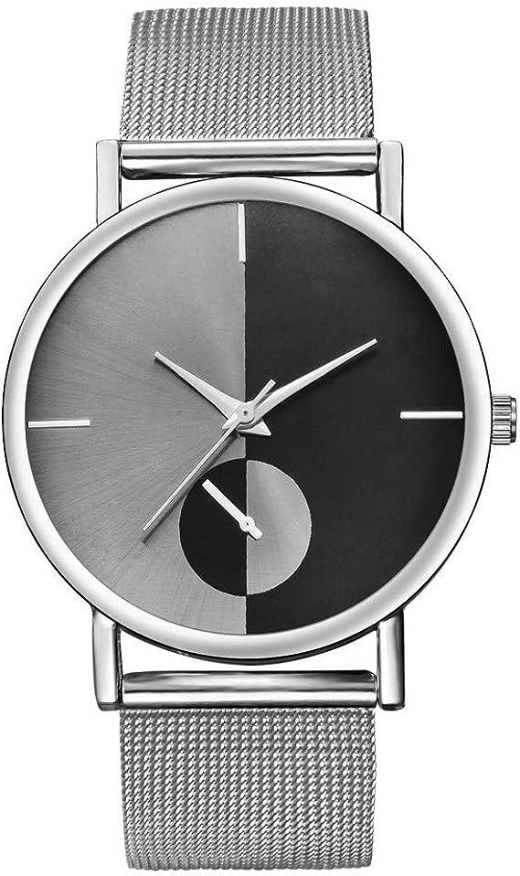 2019 Relojes Mujer, Reloj De Malla De Malla De Alta Dureza De ...