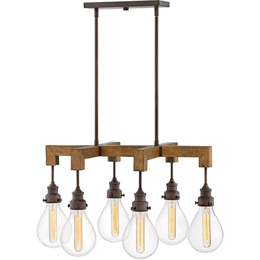 Amazon.com: Island Lighting - Lámpara de techo (6 unidades ...