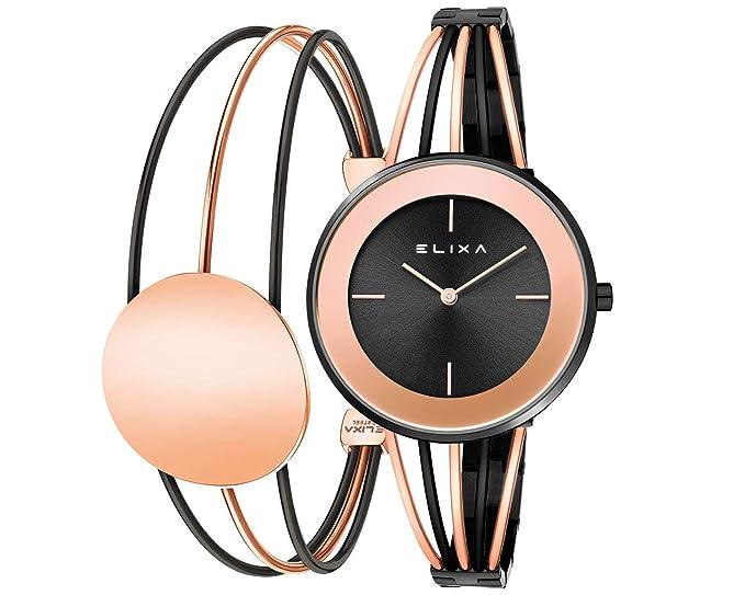 Reloj de Mujer Elixa Finesse E126-L522-K1: Amazon.es: Relojes