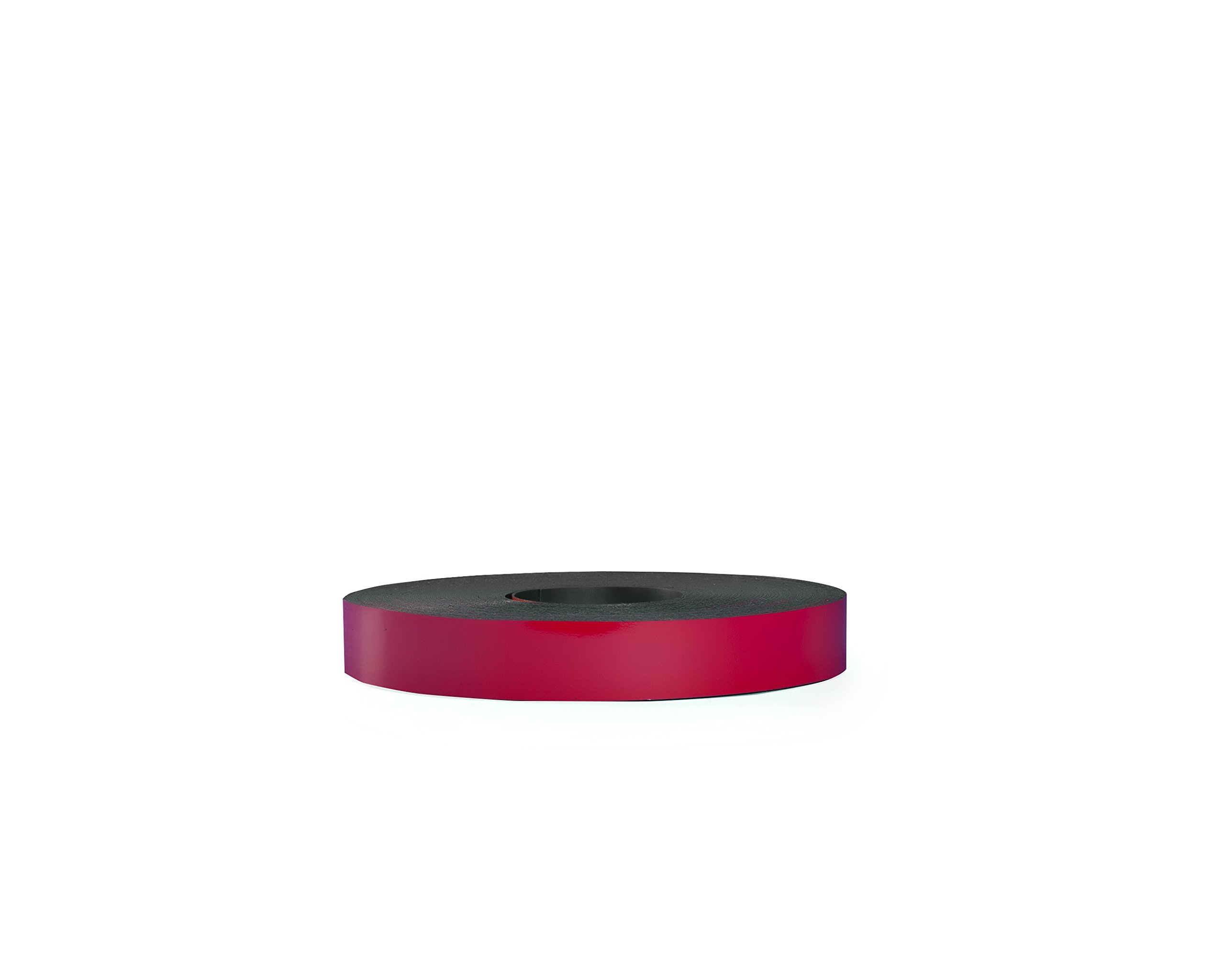 30 Mil Dry Erase Magnetic Strip Roll - Red - 1'' X 25'