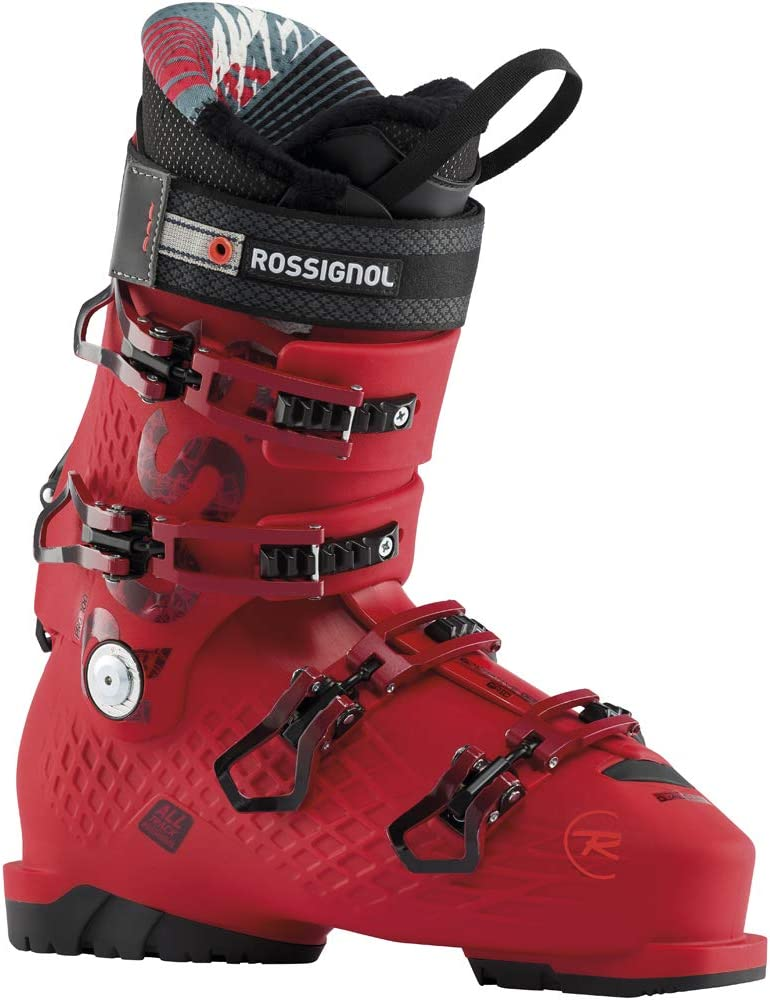 Unisex Red Rossignol All Track Pro Ski Boots 285 Adults