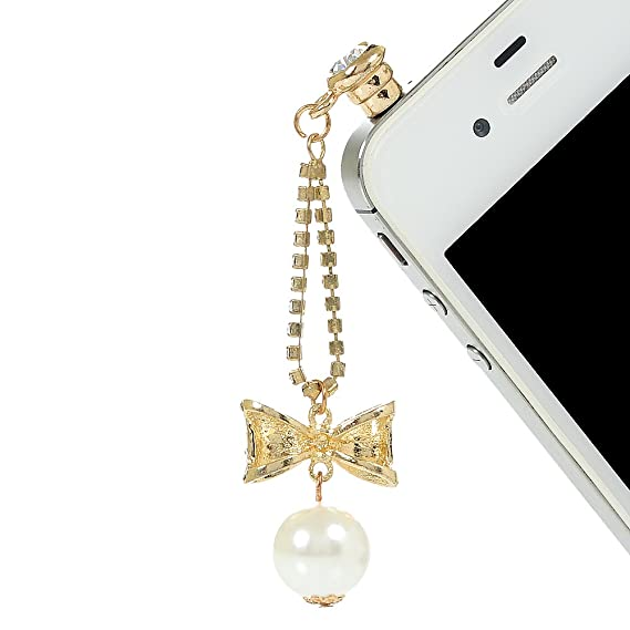for Samsung Galaxy S10 Plus for LG 3.5MM KASOS Dust Plug-Earphone Jack Accessories Bling Shiny Glitter Sparkle Diamonds Rhinestones Gems with Tassel//Cell Charms//Dust Plug//Ear Jack for iPhone 6S Plus