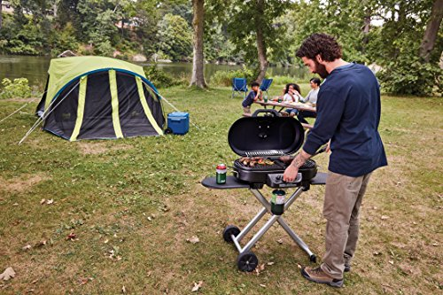Coleman Gas Grill | Portable Propane Grill for Camping & Tailgating | 285 RoadTrip Standup Grill
