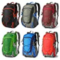 Mountaintop 40L Water-resistant Hiking Daypack/Camping Backpck/Travel Daypack/Casual Backpack for Outdoor Climbing-5832II