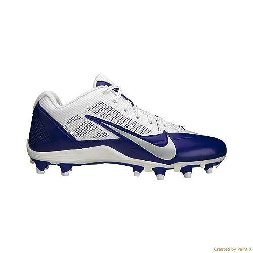 42b485e2b467 Amazon.com  Nike Mens Alpha Pro TD SB Low Football Cleats Kansas ...