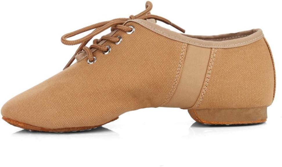 Canvas Jazz Shoe No-Slip EVA Sole Lace