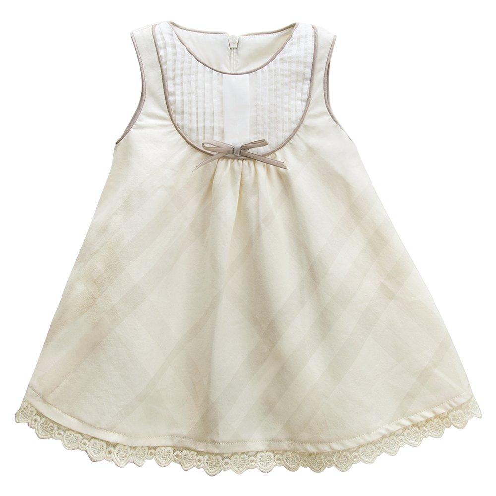 727ccf0e0f3 Amazon.com  mubenshang Baby Girl Dresses Summer Toddler Dress Casual A Line  Dress Sleeveless Princess Dress  Clothing