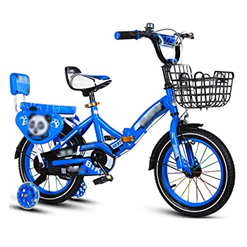 JianMeiHome Bicicleta para niños Bicicleta Plegable para niños ...