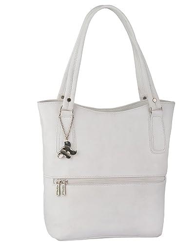 Fostelo Sarah Women s Handbag (White)  Amazon.in  Shoes   Handbags 6b6b3d25dcdbe