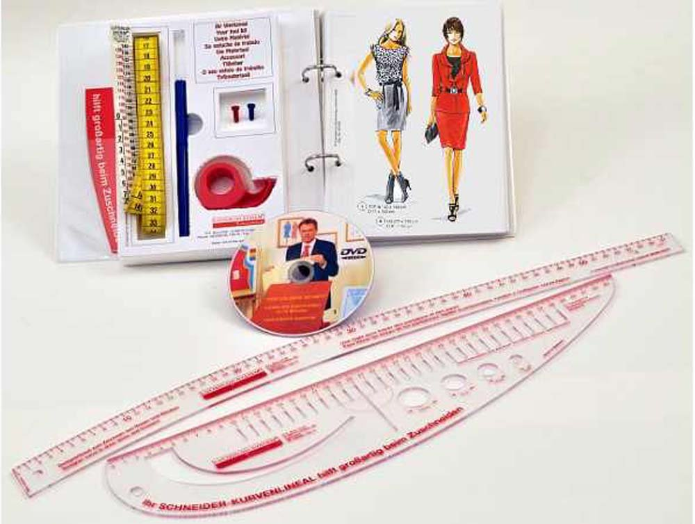 The Golden Rule Pattern Making System, 280 Sewing Patterns & Fashion Styles for Hobby Dressmakers from Lutterloh System by Lutterloh System, The golden rule