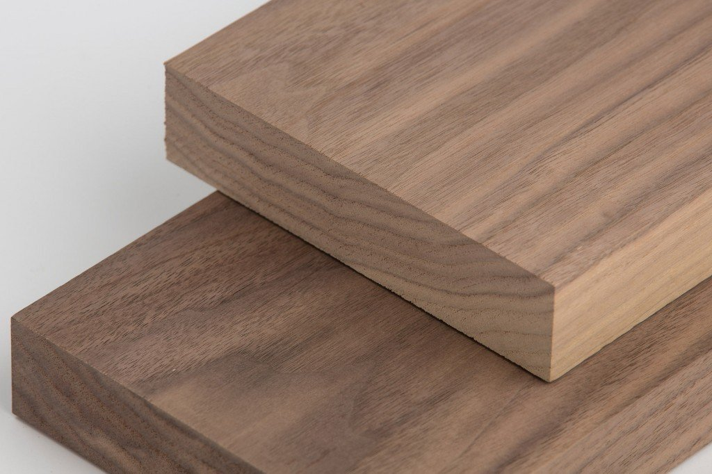 1'' X 5'' X 4' Solid Walnut Hardwood Lumber Board by CAPITOL CITY LUMBER
