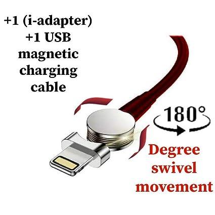 Amazon.com: Cargador de teléfono magnético USB ...