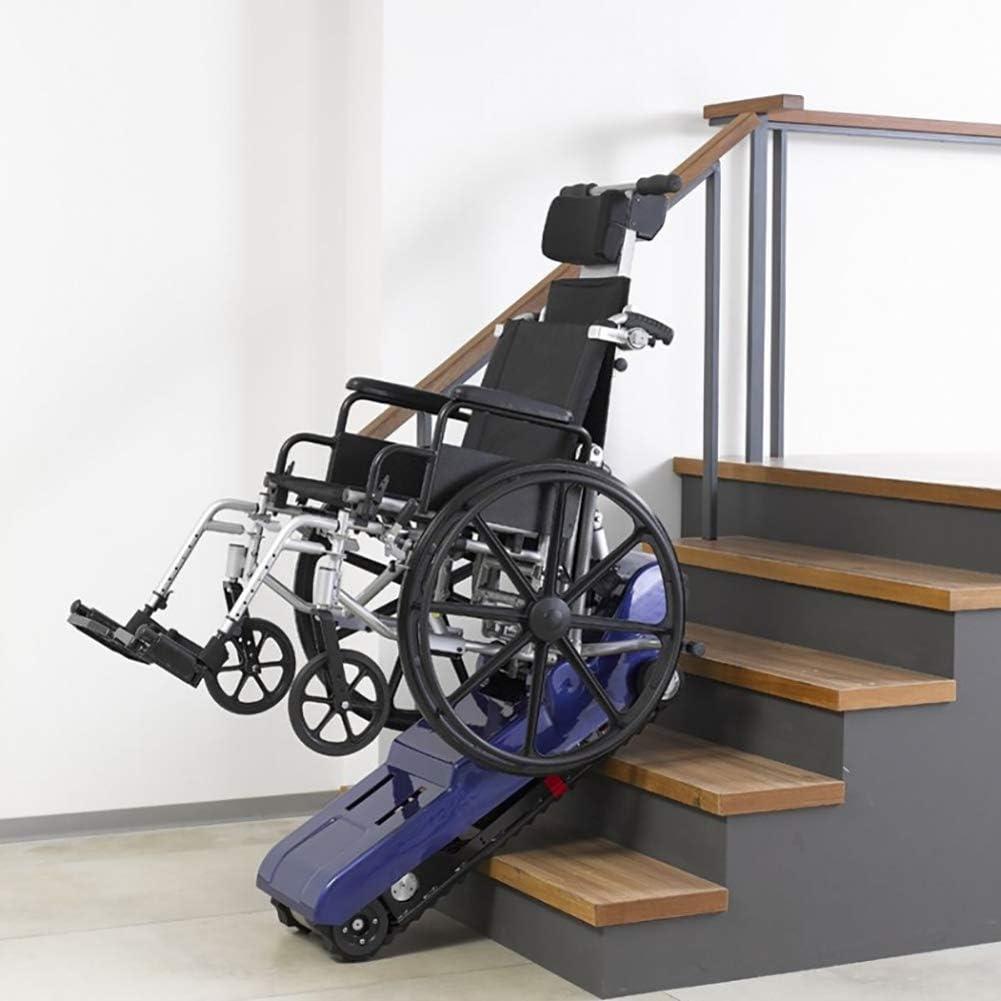Silla de Ruedas Eléctrica para Subir Escaleras Silla de Ruedas Eléctrica para Subir Escaleras Silla de Ruedas para Subir Escaleras Azul: Amazon.es: Deportes y aire libre