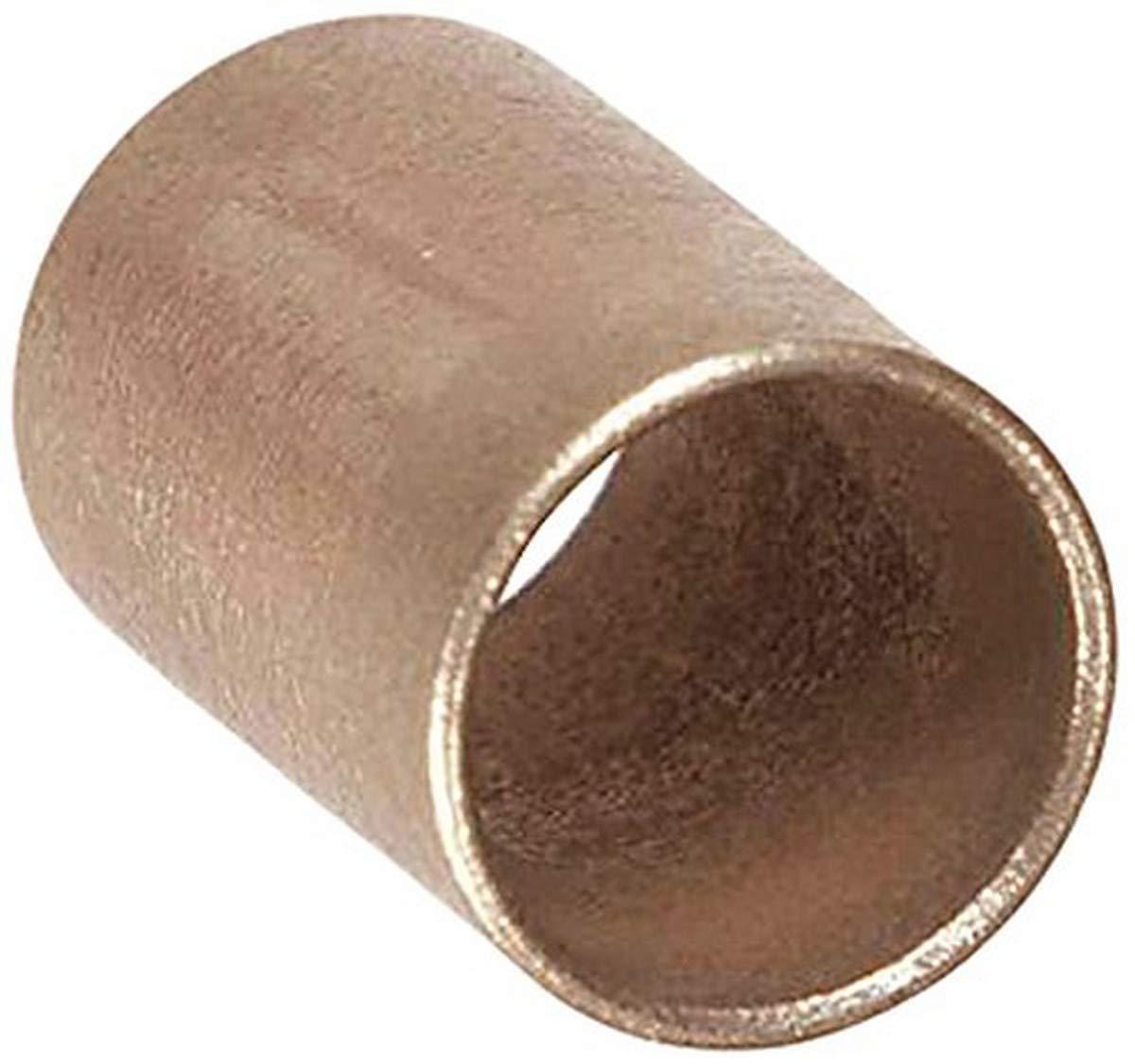 Pack of 10 Isostatics 101050-10 AA-347-3 SAE841 Oilube Powdered Metal Bronze Sleeve Bearings//Bushings