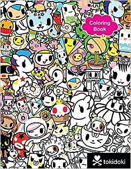 Tokidoki Coloring Book Tokidoki 9781454921813 Amazon Books