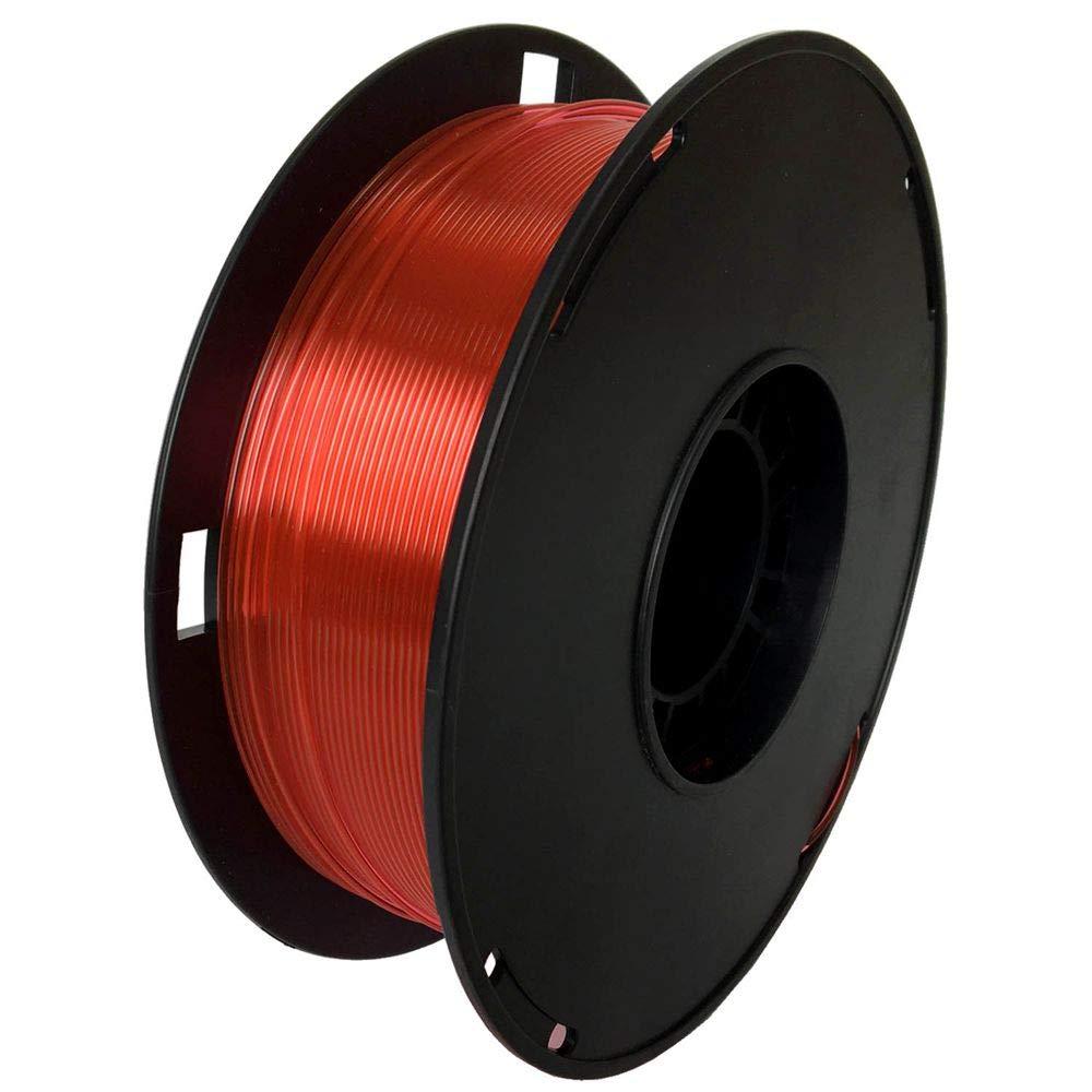 NovaMaker 3D Printer filament - Red 1.75mm PETG Filament, PETG 1kg(2.2lbs), Dimensional Accuracy +/- 0.03mm