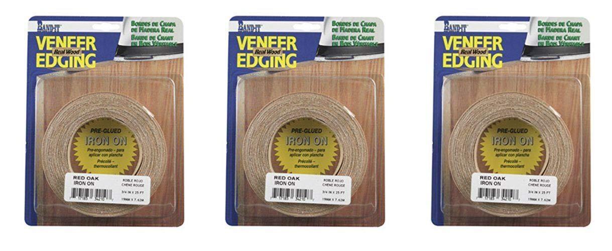0d34676da44 Band-It 34210 Real Wood Veneer Iron-On Edgebanding 3 4