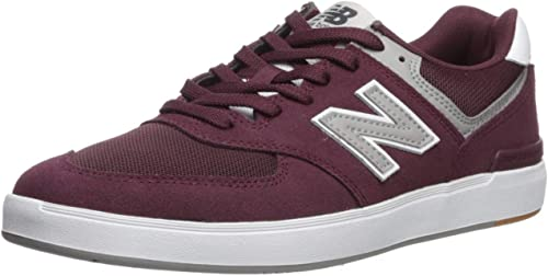 new balance 574 burgundy mens