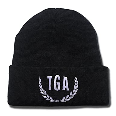 TAYLORP The Gaslight Anthem TGA Studio Page Logo Beanie Fashion Unisex  Embroidery Beanies Skullies Knitted Hats 6a898d615862