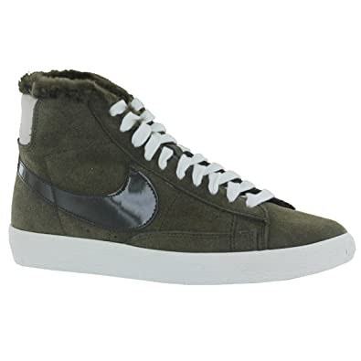 Nike Blazer Mid Lux Olive Womens Trainers Size 4 UK  Amazon.co.uk  Shoes    Bags b9be8b5ed6