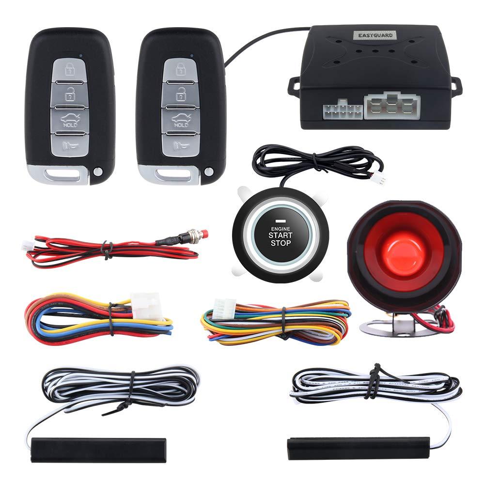 Easyguard EC003N-K Alarma de coche PKE Sistema de entrada ...