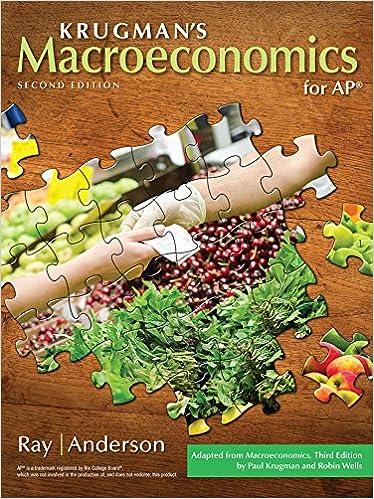 Macroeconomics 2nd edition krugman.