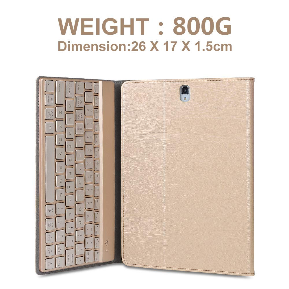 Dingrich Samsung Galaxy Tab 10.1 /étui avec Clavier Bluetooth