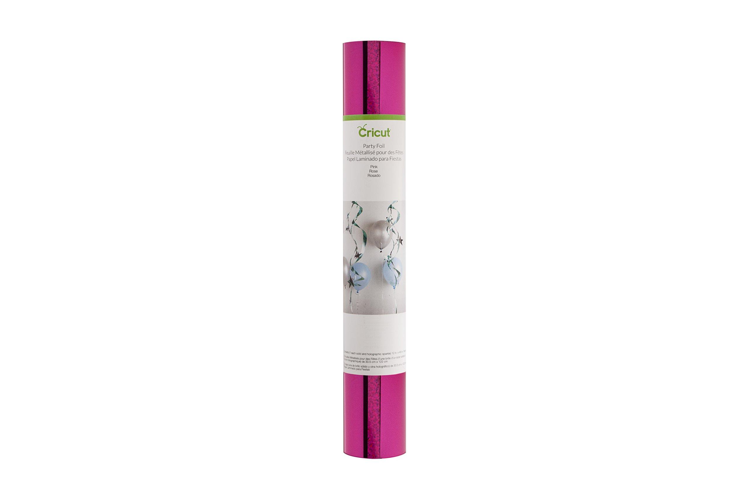 Cricut Pink 12 X 48 X 2 Party Foil, 12X48, by Cricut